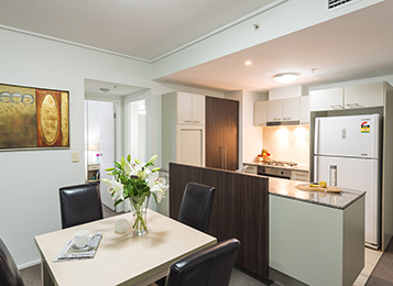 image of comfortable apartment with air con Brisbane