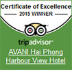 Certicate of excellence 2015 by Trip Advisor