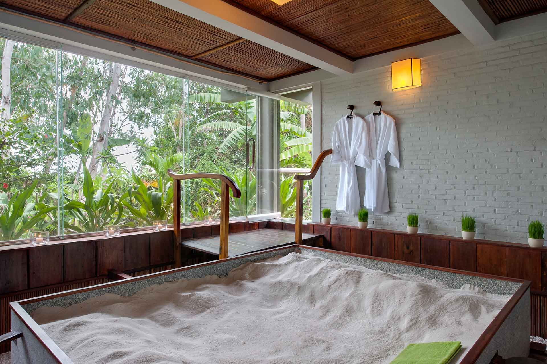 Japanese sand Sauna at AVANI resort in Quy Nhon