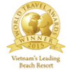 World travel awards winner 2015 logo of AVANI Quy Nhon