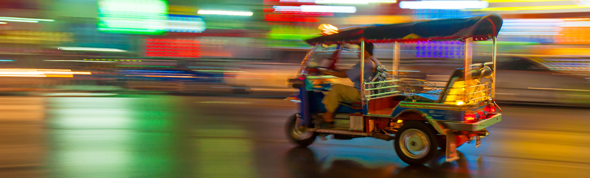 Famous Tuk rides, things to do around Bangkok