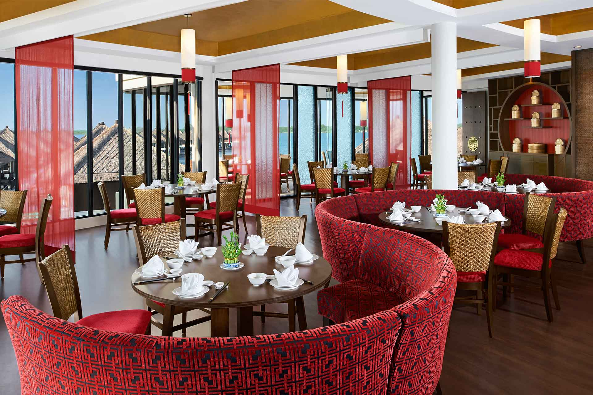 Interior of Hai Sang Lou Restaurant at AVANI Sepang