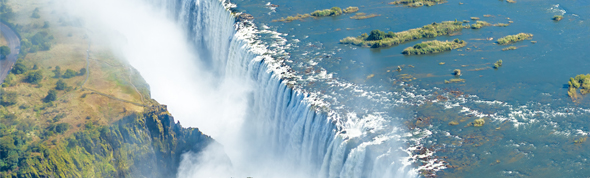 Exploring Victoria falls is among things to do in Zambia