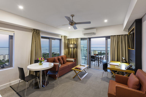 2 Bedroom Dual Harbour View. Oaks Elan Darwin   Official Website   Darwin Hotels