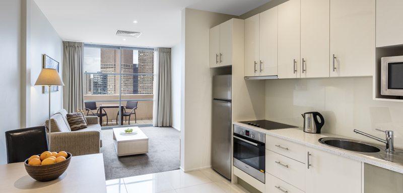 Studio Apartment Melbourne oaks on lonsdale | serviced apartments melbourne cbd